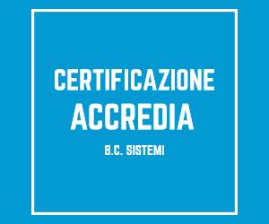 Certificazione Accredia BC Sistemi